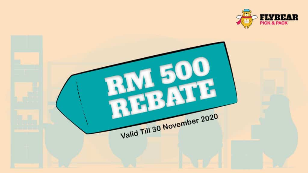 RM 500 rebate promotion