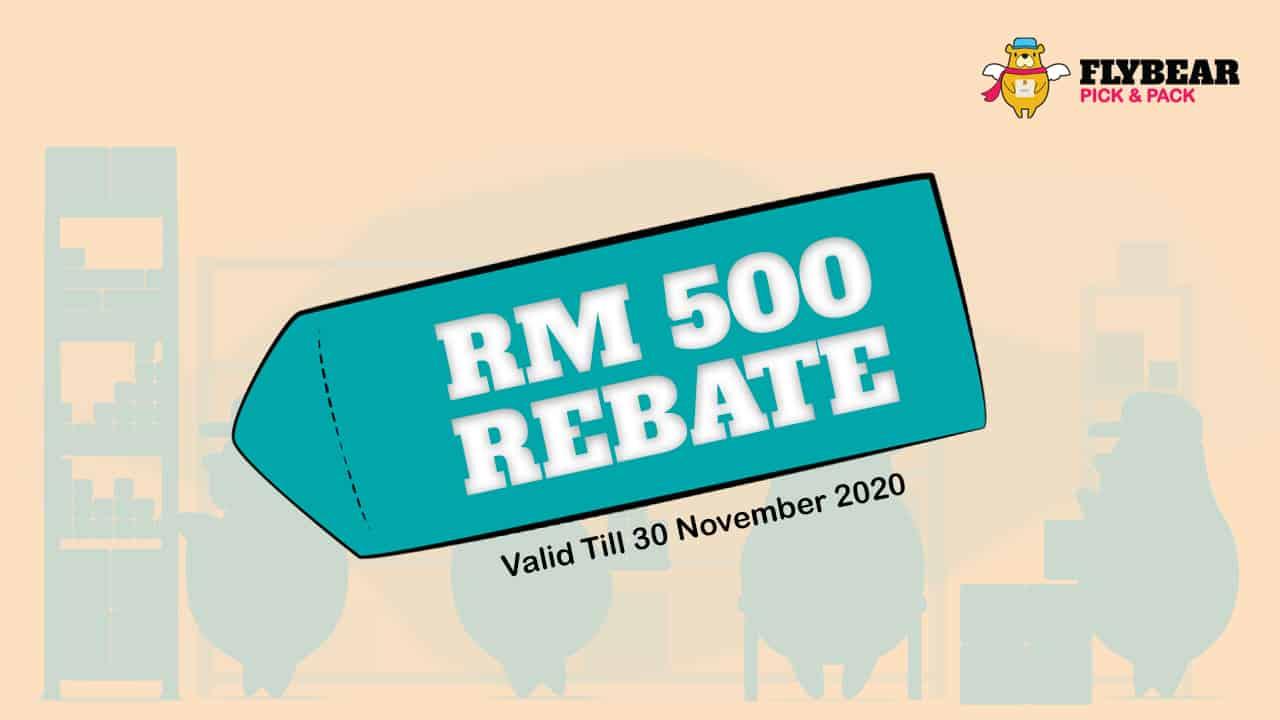 RM 500 rebate promotion